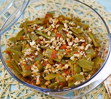Image result for الفاصوليا الخضراء بالطماطم وزيت الزيتون