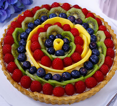 طريقة عمل تارت الفواكه