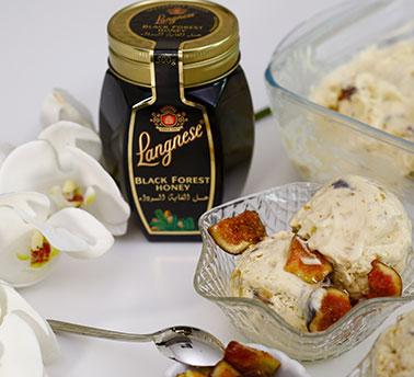 آيس كريم التين بالعسل