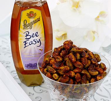 طريقة عمل الفستق بالعسل