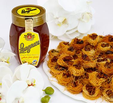 طريقة عمل عش البلبل بالعسل